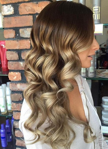 ombre colouring