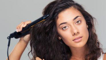 hair straightening brush vs flat iron