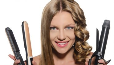 how to curl short hair with straighteners